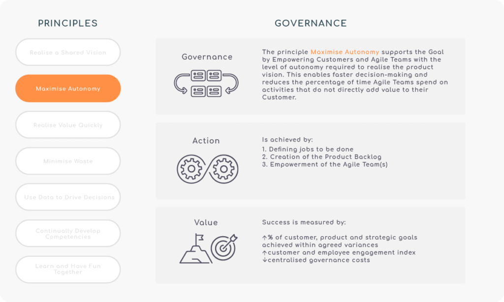Principle 2 - Maximise Autonomy - Governance